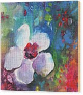 Christmas Flowers For Mom 02 Wood Print