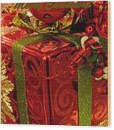 Christmas Greeting Wood Print