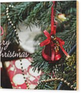 Christmas Greetings Wood Print