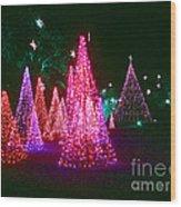 Christmas Hues Wood Print