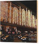 Christmas In Paris - Gallery Lights Wood Print