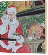 Christmas Is For Sharing 2 Wood Print by Danae McKillop