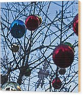 Christmas Is Looking Up This Year Wood Print