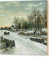 Christmas Morn Wood Print