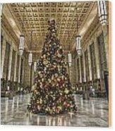 Christmas On 30th Street Wood Print