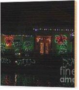 Christmas On East Lake 3 Wood Print