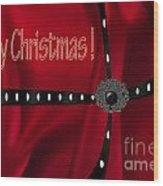 Christmas One Wood Print