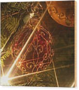 Christmas Ornaments 1 Wood Print