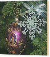 Christmas Ornaments 2 Wood Print