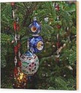 Christmas Bling #7 Wood Print