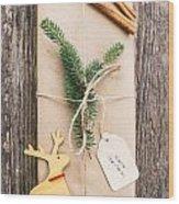 Christmas Present Wood Print
