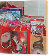Christmas Presents Wood Print