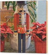 Christmas Sentinel  No 1 Wood Print
