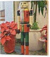 Christmas Sentinel No 2 Wood Print