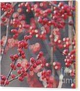 Christmas Sparkles Wood Print