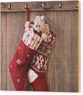 Christmas Stockings Wood Print