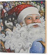 Christmas Stowaway Wood Print
