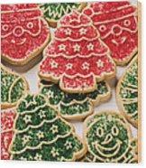 Christmas Sugar Cookies Wood Print