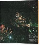 Christmas Tree Series 5 Wood Print