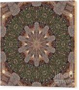 Christmas Wreath Wood Print