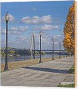 Christopher S. Bond Bridge Wood Print