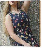 Christy Blue Minidress-40-2 Wood Print