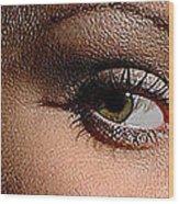 Christy Eyes 89 Wood Print