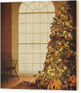 Chritsmas Tree Wood Print