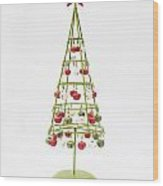 Christmas Bells Wood Print