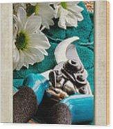 Chrysanthemum Cuttings Wood Print by John Edwards