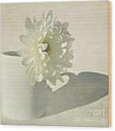 Chrysanthemum Shadow Wood Print