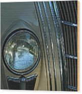Chrysler Airflow Wood Print