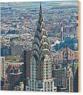Chrysler Building - Nyc Wood Print