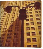 Rockefeller Building In Manhattan Wood Print