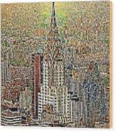 Chrysler Building New York City 20130425 Wood Print