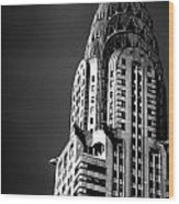 Chrysler Building Nyc 1 Wood Print