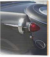 Chrysler Imperial Taillight Wood Print