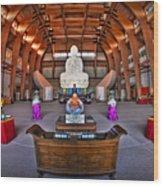 Chuang Yen Buddhist Monastery Wood Print
