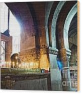 Chuch Of The Holy Sepulchre In Jerusalem Wood Print