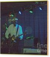 Chuck Berry And Charles Berry Jr. 2 Wood Print