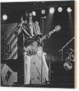 Chuck Berry At The North Sea Jazz Festival 1987 Wood Print