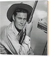 Chuck Connors - The Rifleman Wood Print