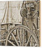 Chuck Wagon Wood Print