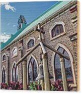Church 5 Wood Print
