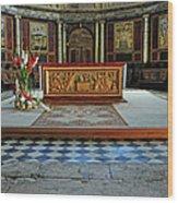 Church Alter Provence France Wood Print