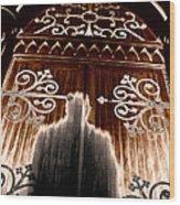 Church Aura Wood Print