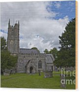 Church Avebury Uk 2 Wood Print