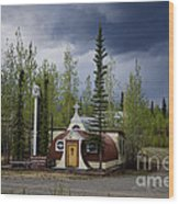 Church Beaver Creek Yukon Wood Print