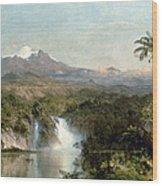 Church: Cotopaxi, 1857 Wood Print