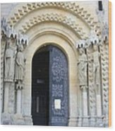 Church Door - Cathedral Bamberg - Germany Wood Print